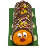 chocoalte catterpillar cake