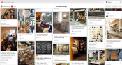My coffee shops inspiration pinterest page