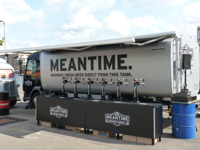 Meantime beer tank