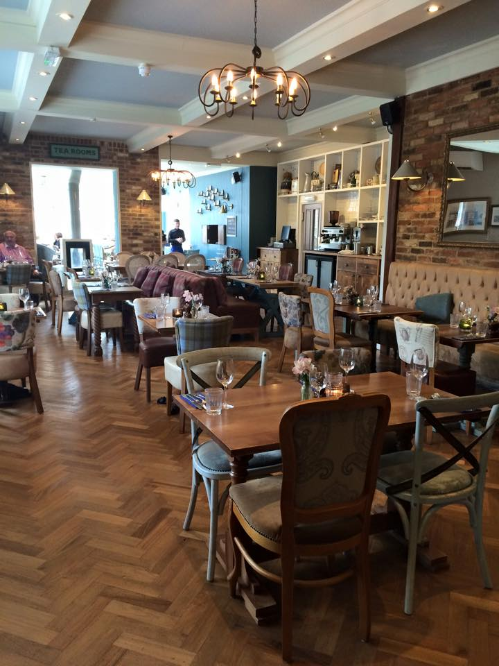 The Bull's Head Chislehurst afternoon tea room