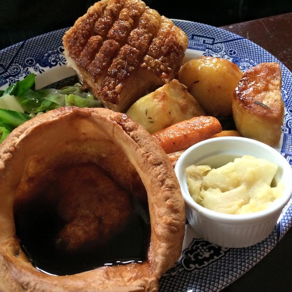 Pork roast Railway Tavern, Bromley North