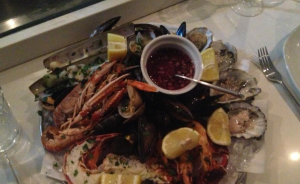 Disiac London seafood platter