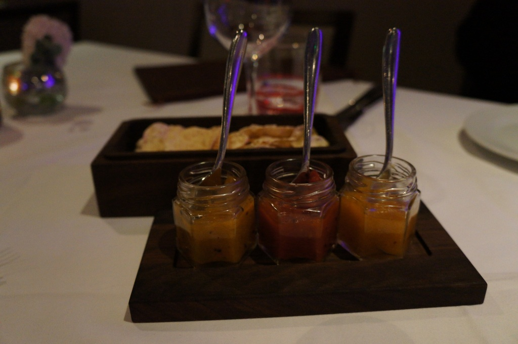Chutneys at Indian Essence