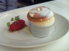 Thackeray's Tunbridge Wells Sicilian Lemon Souffle