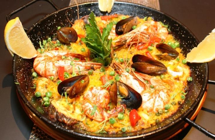 Seafood Paella from El Cantara
