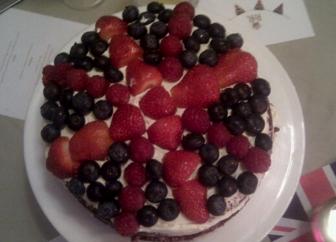 Rule Britannia Red Velvet Cake