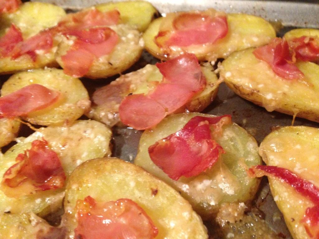 serrano and parmesan roasted potatoes