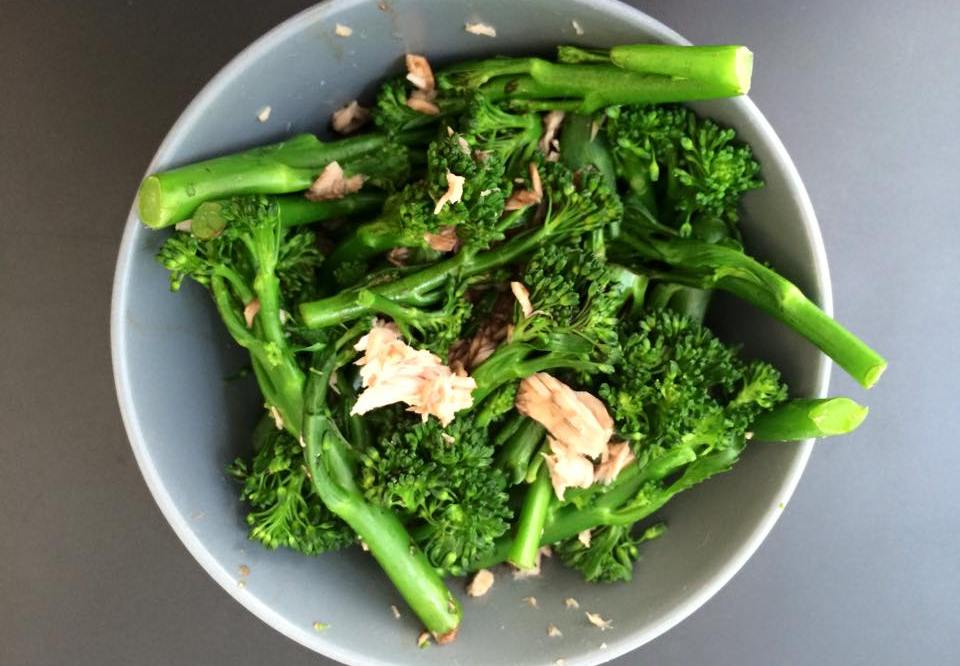 tender stem broccoli and tuna