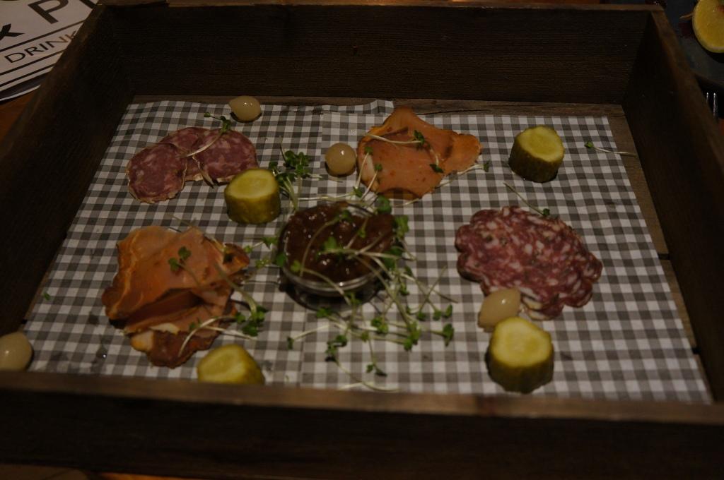 Cannon & Cannon meat platter