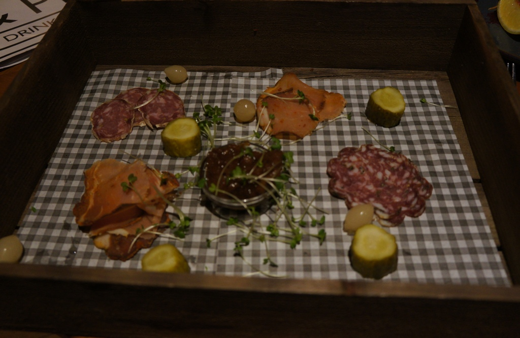 Cannon & Cannon meat platter